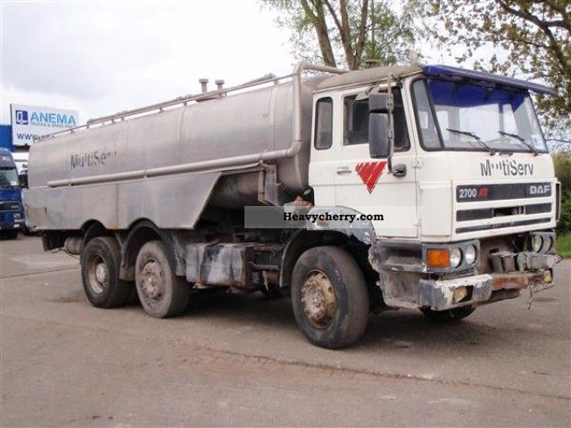 1991 DAF  ATI 2700 Truck over 7.5t Other trucks over 7 photo