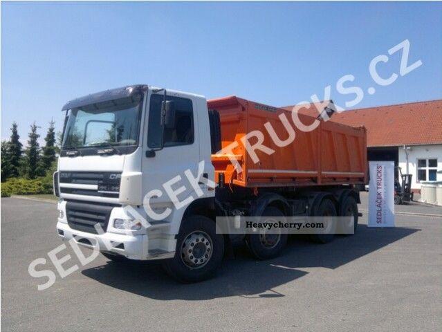 2008 DAF  CF 85.410 8x4 Euro 4 Truck over 7.5t Tipper photo
