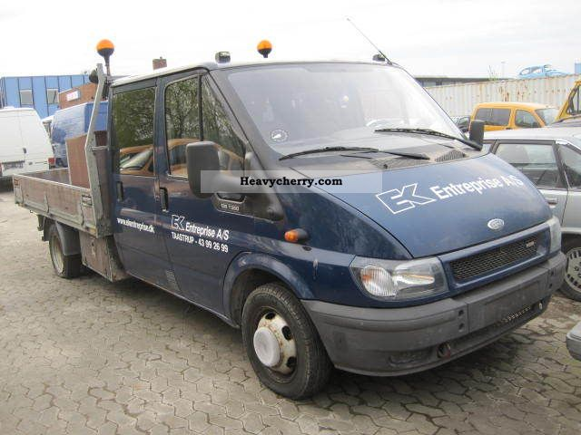 2004 Ford  transit Van or truck up to 7.5t Stake body and tarpaulin photo