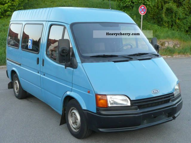 1993 Ford Transit 2.5D disabled / wheelchair lift Van or truck up to 7 ...