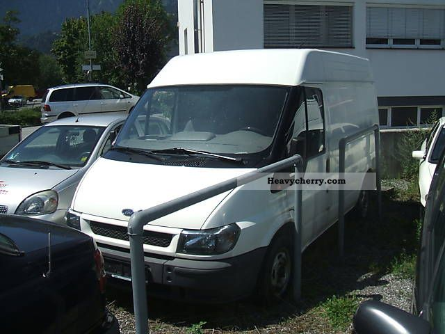 2001 Ford  Transit Van or truck up to 7.5t Refrigerator box photo