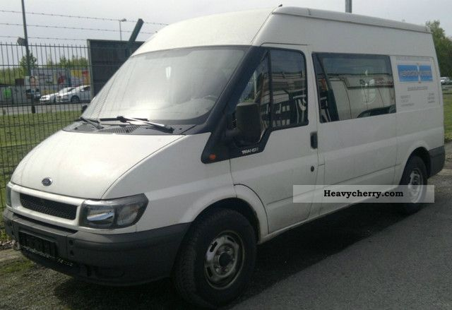 2000 Ford  Transit Van or truck up to 7.5t Box-type delivery van photo