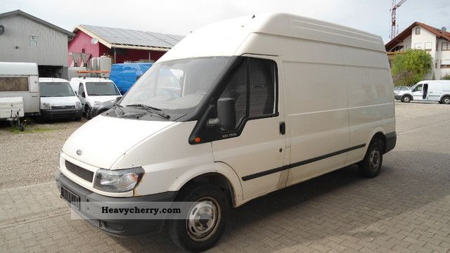 2005 Ford  Transit 100 T 300 Van or truck up to 7.5t Box-type delivery van - high and long photo