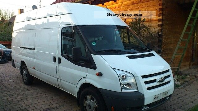 2010 Ford  Transit 140T350 trend AIR ALARM PDC cruise Van or truck up to 7.5t Box-type delivery van - high and long photo