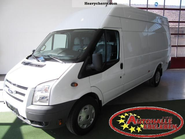 2010 Ford  Transit FT 350 EL 2.4 TDCI air PDC Van or truck up to 7.5t Box-type delivery van - high and long photo