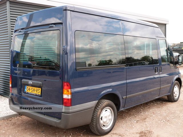 ford transit combination 9 persoons l2h2 2006 estate minibus up to 9 seats truck photo and specs. Black Bedroom Furniture Sets. Home Design Ideas
