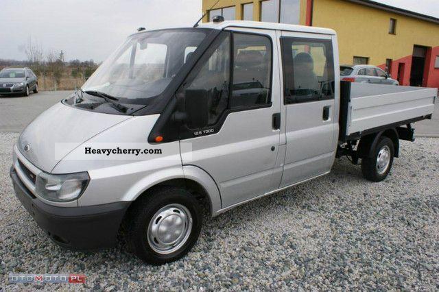 2003 Ford  TRANSIT 2.0 TDCI naped PRZÓD DOKA6OSOBOWA Van or truck up to 7.5t Box photo