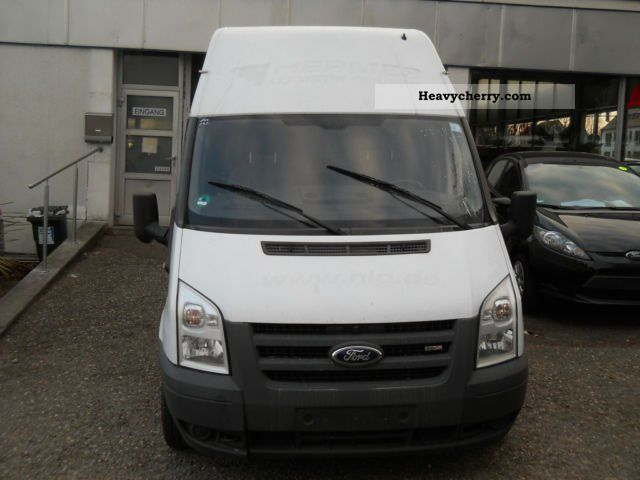 ford transit ft 300 l tdci trend line express top 2010 box type delivery van high and long. Black Bedroom Furniture Sets. Home Design Ideas