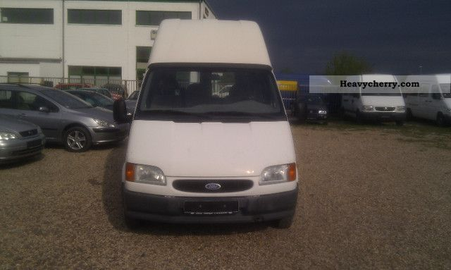 1995 Ford  transit Van or truck up to 7.5t Box-type delivery van - high and long photo