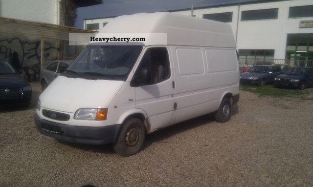 ford transit 1995 box type delivery van high and long photo and specs. Black Bedroom Furniture Sets. Home Design Ideas