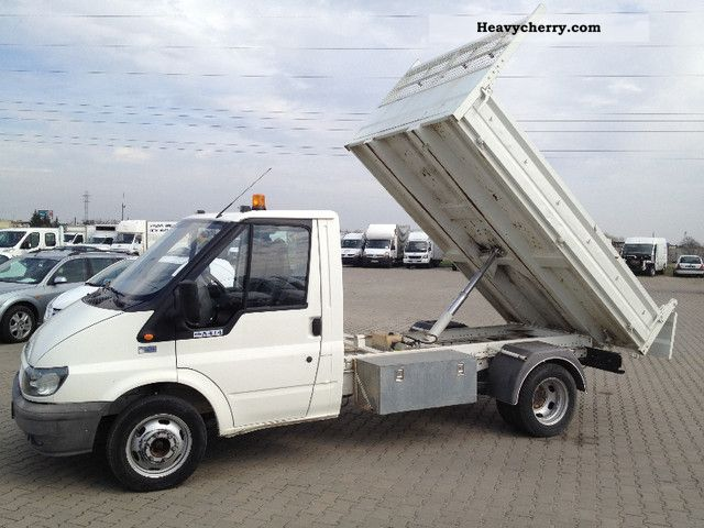 6b7cb002bf 2006 Ford Transit Tipper 2006 140 350 Van or truck up to 7.5t Tipper photo