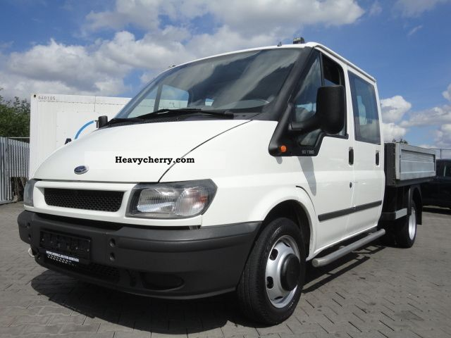 2c09a18f4d 2006 Ford TRANSIT 2.4 TDCI DOUBLE CAB 66 KW PRITSCHE KLI Van or truck up to