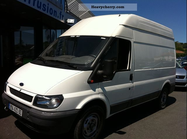 ford transit fourgon 350 ms td115 sureleve 2006 box type delivery van photo and specs. Black Bedroom Furniture Sets. Home Design Ideas