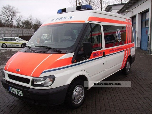 2006 Ford  Transit Van or truck up to 7.5t Ambulance photo