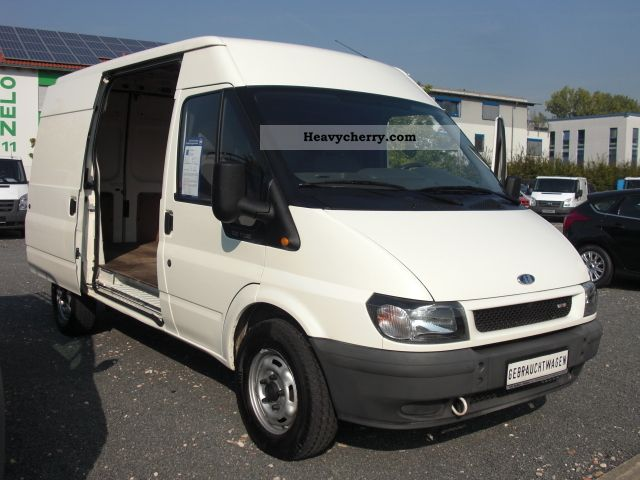 ford transit ft 330 m tdci 2005 box type delivery van. Black Bedroom Furniture Sets. Home Design Ideas