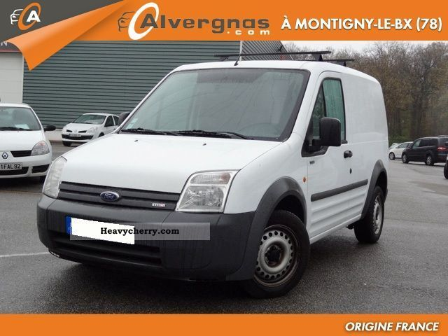 ford transit connect tdci fourgon 220 court 7 2008 box type delivery van photo and specs. Black Bedroom Furniture Sets. Home Design Ideas