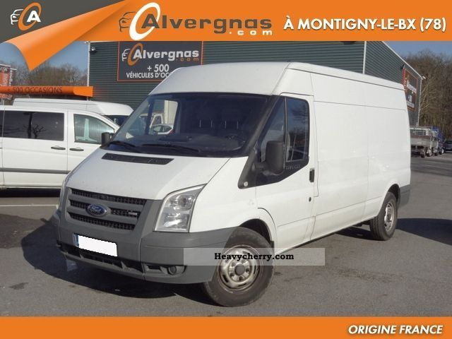 ford transit tdci fourgon 330 l 140 2008 box type delivery van photo and specs. Black Bedroom Furniture Sets. Home Design Ideas