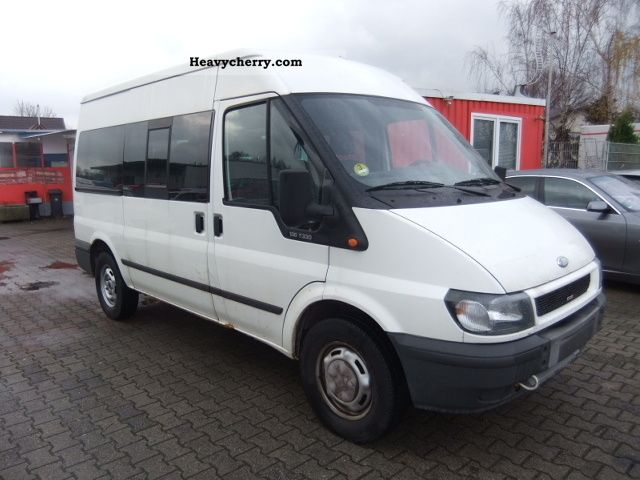 ford transit ft 330 climate tdci 9 seats 2004 estate minibus up to 9 seats truck photo. Black Bedroom Furniture Sets. Home Design Ideas