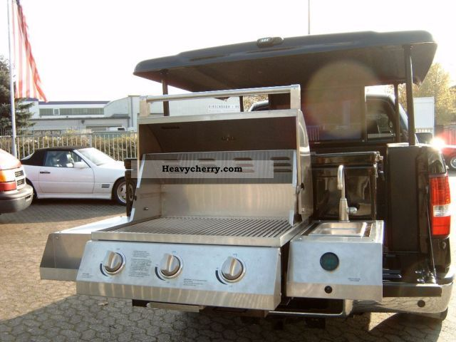 2006 Ford  F-150 truck Grill-/Entertainment party unique! Van or truck up to 7.5t Traffic construction photo