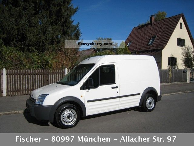 Ford Transit Connect 1 8 Tdci Long Air Aluca 2006 Box Type