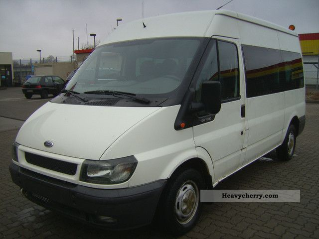 2003 Ford  Transit 100 T300 High \u0026 long-seater air-6-Rollst Van or truck up to 7.5t Estate - minibus up to 9 seats photo