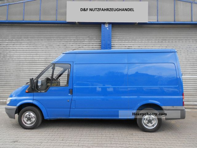 2003 Ford  TRANSIT 2.0 TDCI LKW.Hoch * long * EURO3 Van or truck up to 7.5t Box-type delivery van - high and long photo