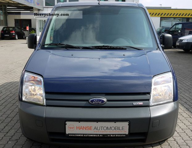Ford Transit Connect Short Sliding Box 2007 Box Type