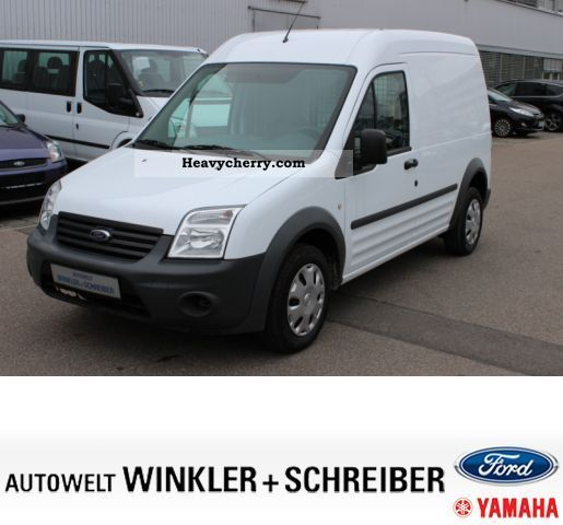 Used Ford Transit Connect In Widnes Cheshire: Ford Transit Connect Base 2010 Box-type Delivery Van Photo
