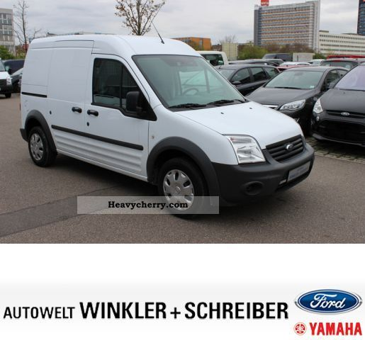 2012 Ford Transit Connect Refrigeration Mini Cargo Van: Ford Transit Connect Base 2010 Box-type Delivery Van Photo