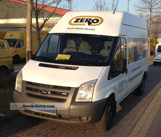 2008 Ford  Transit Van or truck up to 7.5t Box-type delivery van photo
