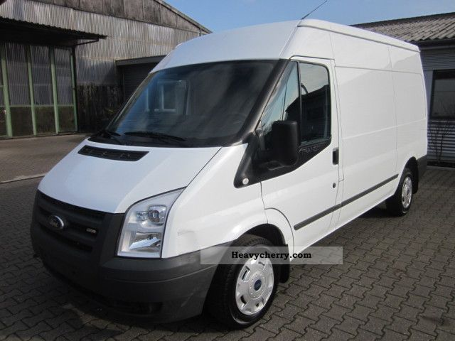 ford transit 2 2 tdci 280 85 t 2009 box type delivery van high photo and specs. Black Bedroom Furniture Sets. Home Design Ideas