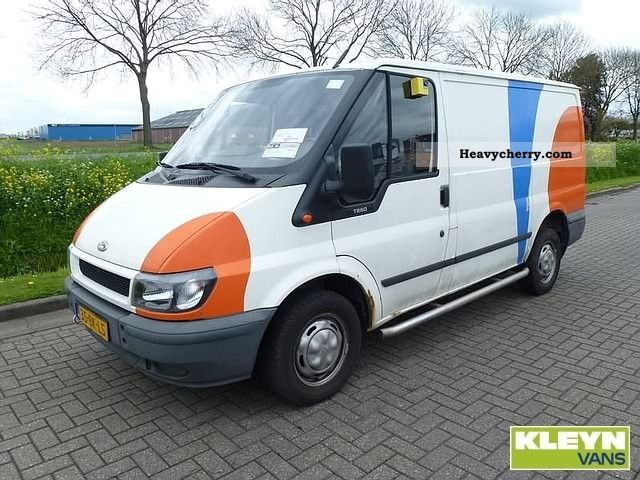 2003 Ford  Transit 260S Van or truck up to 7.5t Box-type delivery van photo