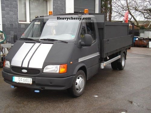 1997 Ford  Transit Van or truck up to 7.5t Stake body photo