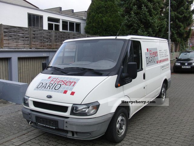 2003 Ford  transit Van or truck up to 7.5t Box-type delivery van photo