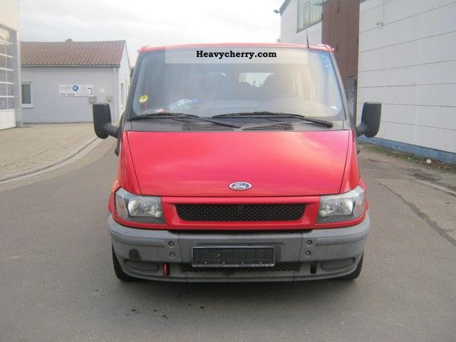 2002 Ford  Transit Van or truck up to 7.5t Estate - minibus up to 9 seats photo