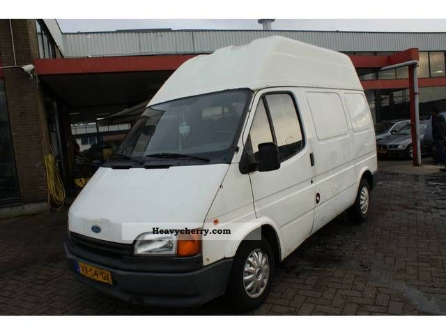 Ford Transit 2 5d 1993 Box Type Delivery Van Photo And Specs