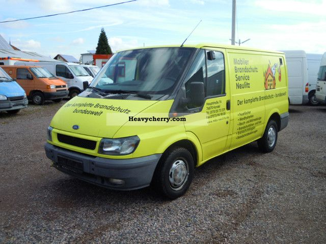 2002 Ford  Transit FT 300 S Van or truck up to 7.5t Box-type delivery van photo