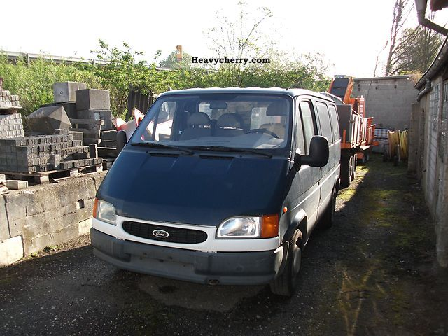 1999 Ford  Transit Van or truck up to 7.5t Other vans/trucks up to 7 photo