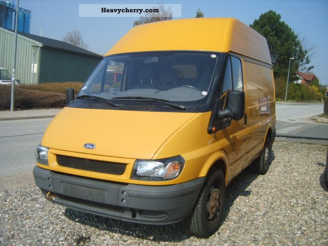 2004 Ford  tranzit 2.4TDCI, 330s Van or truck up to 7.5t Box-type delivery van - high and long photo