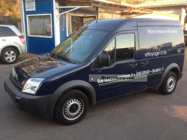 2006 Ford  Connect 1.8 Petrol 2 sliding doors Van or truck up to 7.5t Box-type delivery van - high and long photo