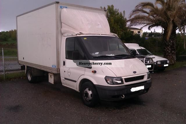 2003 Ford  Transit 2, o AIR Van or truck up to 7.5t Box photo