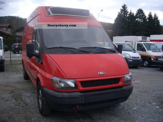 2004 Ford  Transit FT 350 * Nice exports € 9900 Van or truck up to 7.5t Refrigerator box photo
