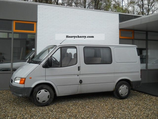 ford transit 2 5 d 6 seat truck trailer hitch 1995 box type delivery van photo and specs. Black Bedroom Furniture Sets. Home Design Ideas