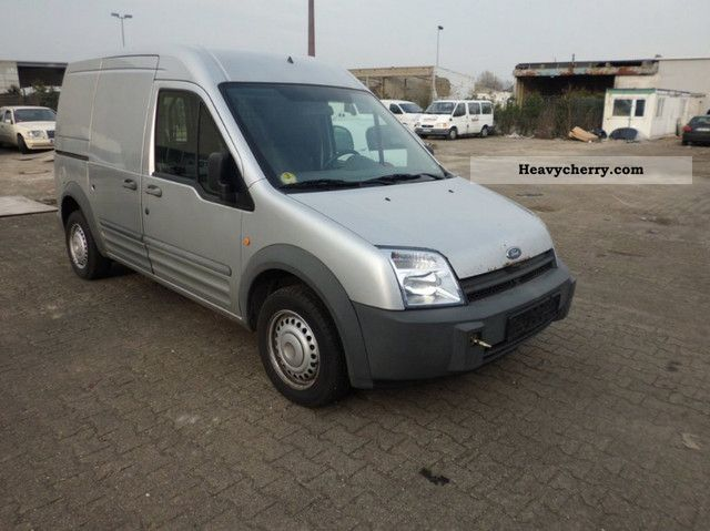 2003 Ford  Connect 1.8 TDCI * High + long * silver * radio * ZFPer Van or truck up to 7.5t Box-type delivery van photo