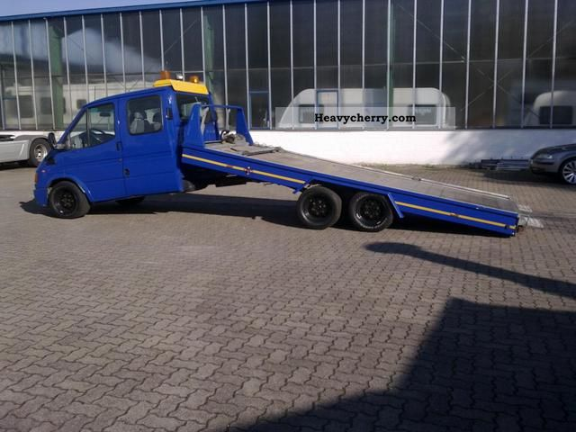 1999 Ford  Transit Van or truck up to 7.5t Breakdown truck photo
