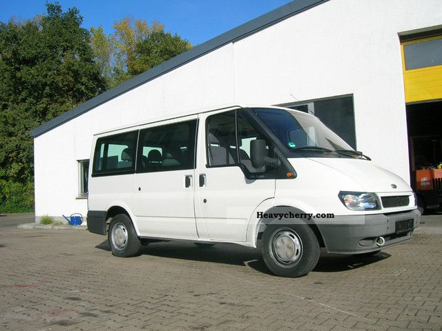 2004 Ford  Transit Van or truck up to 7.5t Estate - minibus up to 9 seats photo