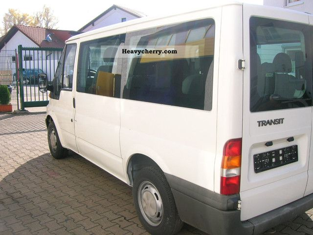 ford transit 2004 estate minibus up to 9 seats truck photo and specs. Black Bedroom Furniture Sets. Home Design Ideas