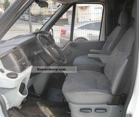 12 Ford Transit 2 2tdci 260s Swb: Ford Transit 2.4 TDCi * Refrigerator * High Roof 2007