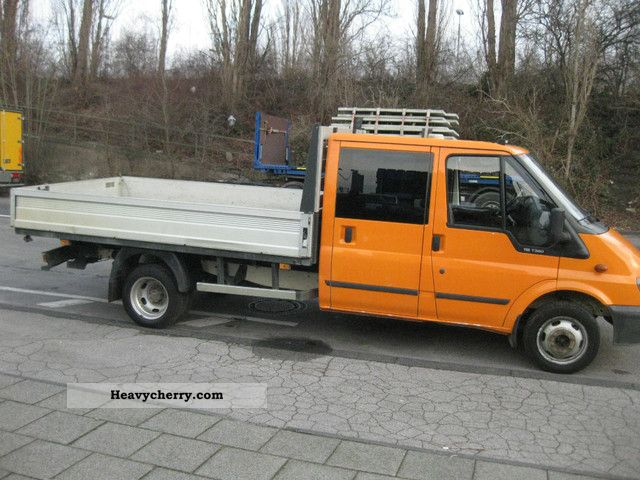 Ford Transit Doka Maxi Twin Tire 2005 Stake Body Truck