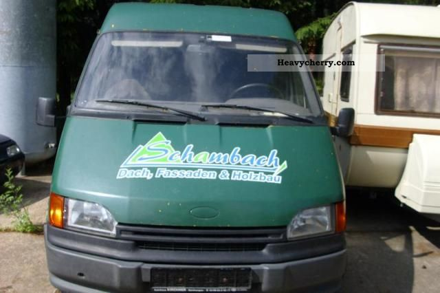 1992 Ford  Transit Van or truck up to 7.5t Box-type delivery van - high and long photo